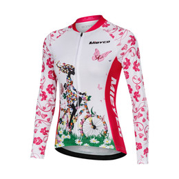 team women cycling Australia - Pro Team Summer Cycling Jersey Women Racing Sport Bicycle Clothing Long Sleeve Breathable MTB Bike Jersey Downhill Tops Wear