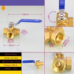 "$enCountryForm.capitalKeyWord Australia - 3 Way T-PORT Brass Ball Valve 1 2"" BSP DN15 For Water ,Gas,Steam,Corrosion,Acid and Alkali"