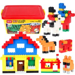 $enCountryForm.capitalKeyWord Australia - Becky Building Blocks Small Particles Compatible Building Blocks Puzzle DIY Inserting Toys Plastic Installation Boys and Girls