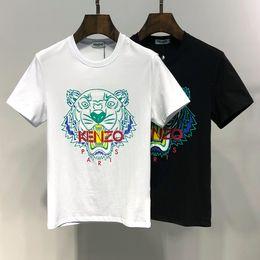 Shark T Shirts For Men NZ - Summer Casual Designer Luxury T Shirts for Men Tops Brand Shark Mouth Pattern Unique Clothing Short Sleeve Tshirt Mens Tops #0012