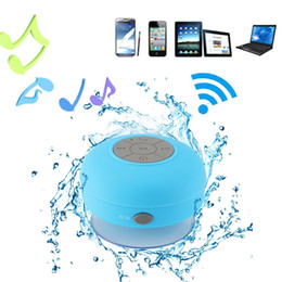 Wholesale Portable Mini Bluetooth Speaker Hands Free Waterproof Wireless Speakers For Bathroom Showers Subwoofer Music Loudspeaker make home fun