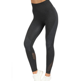 2a4ccd776dbc2 Women Booty Squat Proof Slim Capris Fitness Black Workout Yogaing Pant Butt  Lift High Waist Nylon Casual Seamless Gyms Leggings Y190603