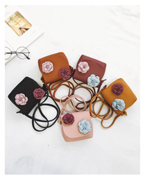 $enCountryForm.capitalKeyWord Australia - Little Gilr's handbag Cross body Cute Flowers Mini Promotion Gifts Accessary Wholesale Free Shipping Phone Bag