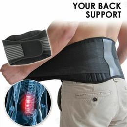 Lower back supports online shopping - Magnetic Back Support Cummerbunds Brace Belt Lumbar Lower Waist Double Adjust Pain Relief