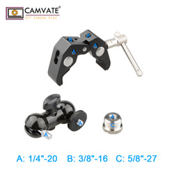 $enCountryForm.capitalKeyWord Australia - Crab clamp & Mini Ball Head Camera Mount for microphones C1196 camera photography accessories C18122501