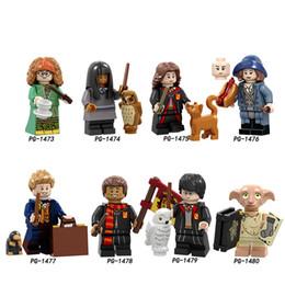 Harry Potter Blocks Australia - Building Blocks Pumping Series Harry Potter Trelawney Cho Chang Hermione Granger Bricks Action Figures For Children Toys PG8192