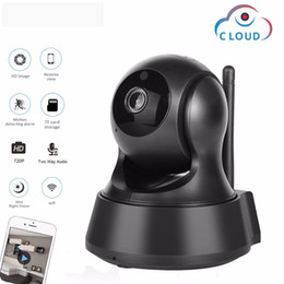 network camera android UK - 720P Cloud Storage IP Camera Wireless Wifi Cam Home Security Surveillance CCTV Network Camera Night