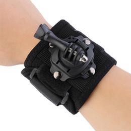 $enCountryForm.capitalKeyWord NZ - HOT Gopro Accessories 360 Degree Rotating Wrist Hand Strap Band Tripod Mount Holder For GoPro Hero 4 2 3 3+ SJ4000 Action Camera #242035