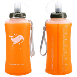foldable water bottle bpa free Australia - Outdoor BPA-free Camping Hiking Foldable Water Bottle