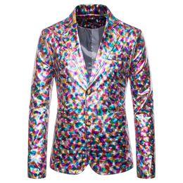 Casual slim suits for men online shopping - HEFLASHOR Rose Jaquard Print Slim Blazer Royal Blue Black Promo Blazer For Men Stylish Business Casual Party Suit Coat