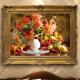 $enCountryForm.capitalKeyWord Australia - Flower vase fruit 5D diamond painting embroidery DIY cross stitch mosaic full diamond living room bedroom wall decoration free shipping gift