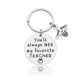 gifts for students teachers NZ - 2020 Teacher Retirement Gifts Appreciation Keychain Thank You Gift for Coaches Mentors Boss Teaching Assistance from Student