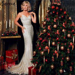 $enCountryForm.capitalKeyWord Australia - 2019 Robe De Soiree Diamond Evening Party Dress Nude Grey Sliver Party Occasion Formal Long Evening Dress Plus Size La6002 Y19073001
