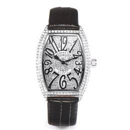 Designer Watch Straps UK - Roman designer luxury leather strap women rhinestone watches women dress quartz diamond lady wristwatch