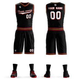 d50c40114 Wholesale Men Youth Basketball Jersey Uniforms Team Sport Tracksuits  Clothes Student Training Sets Design Your Own Basketball Team