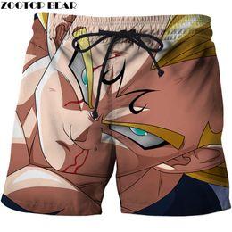 Men's Clothing Anime Hurted Arm 3d Printed Beach Shorts Men Casual Board Shorts Plage Quick Dry Shorts Swimwear Streetwear Dropship Zootop Bear
