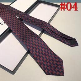 Luxury Men Tie Australia - Luxury New Wedding Men Tie Red Striped Fashion Designer Ties For Men Business Dropshiiping Barry.Wang Groom Tie Kravat