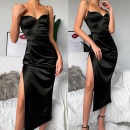 Wholesale womens sundresses resale online – Sexy Womens Summer Dress Evening Cocktail Party Split Dresses Sundress Long