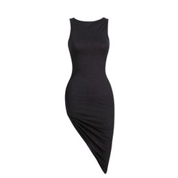 $enCountryForm.capitalKeyWord UK - Dress Bandage Women Bodycon 2019 Sleeveless Evening Party Short Women Dress Vestido De Festa drop shipping designer clothes
