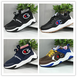 960b06656f2 CASBIA x Champion AWOL Atlanta High Top Man women Athletic Sneakers Fashion  Hot Spring Summer Sports Shoes