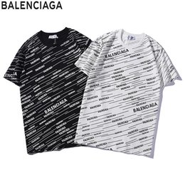 Wholesale designer luxury shirt for sale – custom Mens Designer T Shirt Luxury Letter B Top Tees Fashion Pattern Short Sleeves for Womens Couple Clothes Summer New Trendy T shirt B50