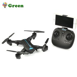 Drone Quadcopter Wifi NZ - A6W Foldable WiFi FPV 720P Wide-Angle HD Camera Gravity Sensor Altitude Hold Headless Mode RC Drone Quadcopter two batteries