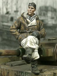 Resin Figures Australia - Free shipping 1 35 Resin Figures SS Panzer Crewman Unassembled unpainted J151