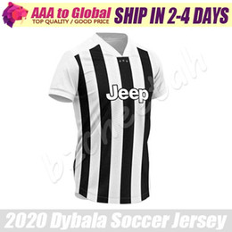 c768d485af4d Paulo Dybala jersey 2020 Home JUVE RONALDO CHIELLINI CUADRADO MANDZUKIC  Shirts Soccer Wear Thailand Soccer jersey Football jerseys