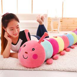 $enCountryForm.capitalKeyWord Australia - Animals Plush Animals Colorful caterpillar toy doll soft animal pillow baby girl toy kawaii insect children