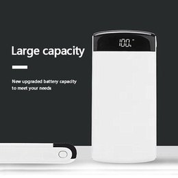 $enCountryForm.capitalKeyWord Australia - Power Bank 30000mAh Dual USB Output Portable Power Bank External Battery Smartphone Charger for iPhone 6 7 8 Samsung Xiaomi
