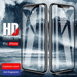 $enCountryForm.capitalKeyWord Australia - Front And Back Glass On The For Apple Iphone Xs Max Protective Glas For Iphone X Xr Xs Max Sx Rx Screen Protector Xsmax Film 9h AW98