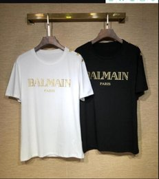 ss t shirts NZ - #qw009 19 SS summer brand designer, high quality printed short sleeve breathable 100% cotton Shipping