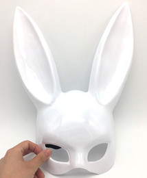 White rabbit masks online shopping - Masquerade Mask Rabbit Ears Bunny Mask The Easter Bunny Mask Bunny Girl Ears for Party Halloween Christmas Gift