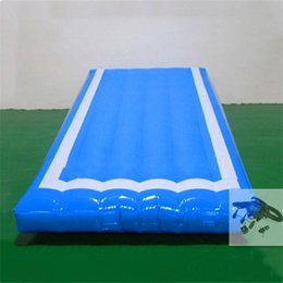 Mat Toys Australia - Free Shipping 3m lenght,1.5m width,0.2m-0.6m height Air track tumbling mat inflatable gymnastics airtrack with Pump