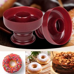 Wholesale Donut Mold Dessert Tool Fondant Mold DIY Tool Desserts Sweet Food Bakery Baking Cookie Cake Mould Easy To Clean