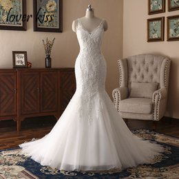 $enCountryForm.capitalKeyWord NZ - Lover Kiss Boho Robe Mariee 2019 Bride Sexy Wedding Dress For Women Marriage Lace Beaded Bridal Gown Backless Vestido De Noiva Y19072901