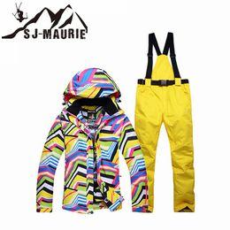 $enCountryForm.capitalKeyWord Australia - SJ-Maurie Ski Jacket Women Ski Suit Waterproof Snowboard Suit Outdoor Winter Warm Hiking Jacket+Pants for Girls Snow