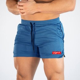 mesh running shorts men NZ - Summer Sport Running Shorts Men Fitness Crossfit Sweatpants Compression Short Pants Bodybuilding Mens Gym Mesh Jogging Shorts