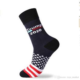$enCountryForm.capitalKeyWord Australia - 2020 President Donald Trump Socks Funny mens Novelty Socks for Men Women Socks Medium Tube Sock Wholesale