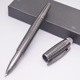 $enCountryForm.capitalKeyWord Australia - Luxury Best Quality Pens Ultimate Carbon Ballpoint Pen Rollerball Pen Cover Carbon Fiber Unique Brand School Office Supplies Writing Pens