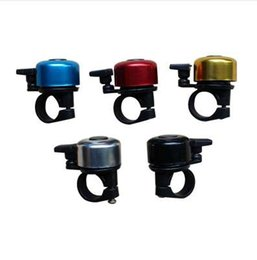 Bicycling Gear UK - High Quality Mini Aluminium Alloy Fixed Gear MTB Road Bicycle Bell Ring Horn Bicycle Cycling Bike Handlebar Bell 5 Colors