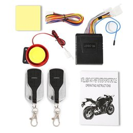 $enCountryForm.capitalKeyWord Australia - 12V Motorcycle Alarm System Anti-theft Security Adjustment Alarm System Remote Control 75*65*22mm car