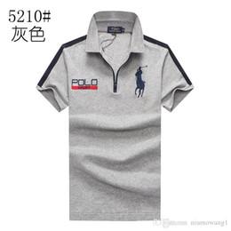 Ralph Polo Xxl Australia - Mens designer Polo Ralph Tshirt Best seller Lauren Luxury High quality big logo T shirt embroidery Classic Cotton Round neck polos sizeM-XXL