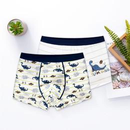 $enCountryForm.capitalKeyWord Australia - 10Pcs Lot Boys Cartoon printing underwear Boy's flat panties kids underpants Suitable for 2 to 14 year old boys Children's Fashion S19JS037