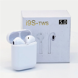 bluetooth listening 2019 - i9s wireless Bluetooth headset with charging bin call listening to sports headphones V5.0 Android IOS system FOR: IPHONE
