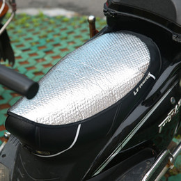 motorcycle seats covers NZ - Size 60*36cm Motorcycle Car Seat Cover Scooter Waterproof Sunscreen Pad Sponge Insulation Pad Motorcycle Scooter Accessories