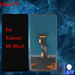 touch screen super Canada - Super quality For Xiaomi Mix 3 LCD Screen With Touch screen Digitizer Assembly Display Screen replacement for Mi Mix3 Free Shipping DHL