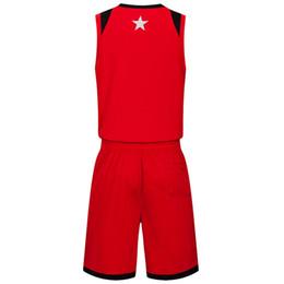 $enCountryForm.capitalKeyWord UK - 2019 New Blank Basketball jerseys printed logo Mens size S-XXL cheap price fast shipping good quality Red Black RB012