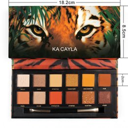 Discount palette matte nude - KACAYLA 12 Colors Matte Glitter Eyeshadow Natural Beauty Makeup Palette Waterproof Nude Color Shimmer Eye Shadow Palette