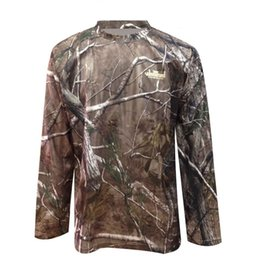703b4999 Spring Men's Bionic Camouflage Quick Dry T Shirt Tops Male Outdoor Sports  Hunting Jungle Long Sleeve Breathable T T-Shirt Shirts